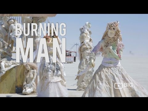 Burning Man USA Black Rock City Desert Nevada Art Festival