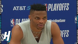 Russell Westbrook Postgame Interview - Game 1 | Rockets vs Lakers | September 4, 2020 NBA Playoffs