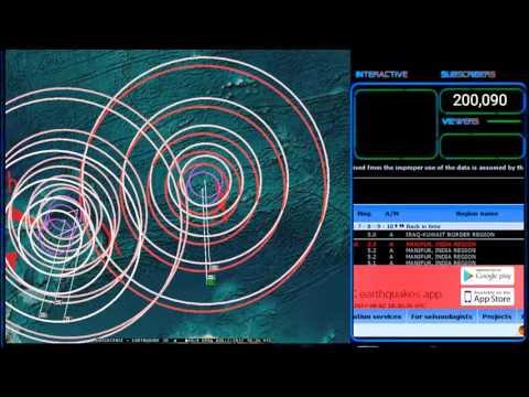 8/02/2017 -- Earthquake Forecast Direct Hit -- Noteworthy M5.2 strikes India / Myanmar border