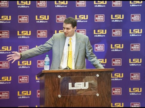 Will Wade introduced as new men's basketball coach | FULL PRESSER