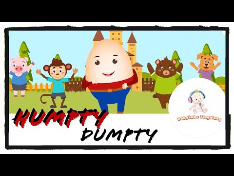 Humpty Dumpty Song For Kids (2018) - Sing Along Nursery Rhymes