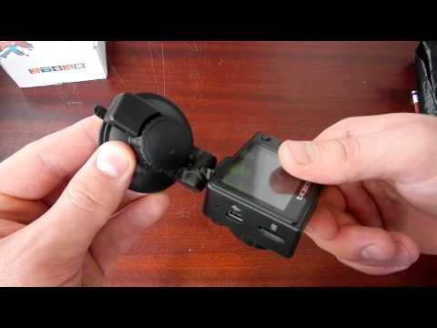 Видеорегистратор Texet DVR-443 обзор и тест