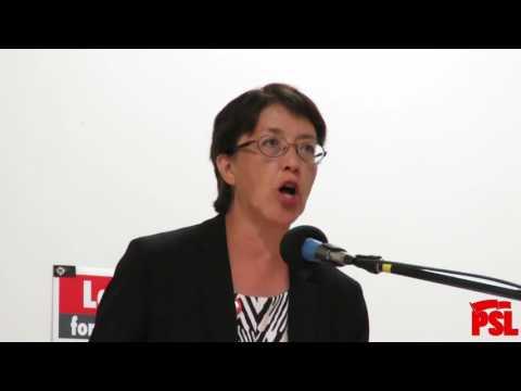 Gloria La Riva Campaign Event 9-30-16