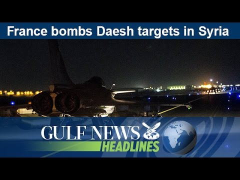 France bombs Daesh targets in Syria - GN Headlines