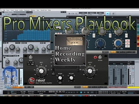 Pro Mixers Playbook