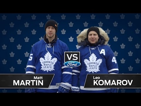 Komarov vs Martin - Ultimate Trick Shot Challenge
