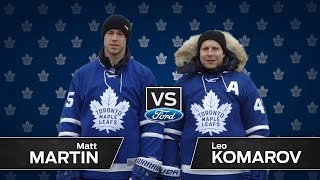 Komarov vs Martin - Ultimate Trick Shot Challenge