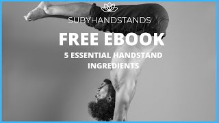 5 ABSOLUTELY ESSENTIAL INGREDIENTS TO HANDSTAND EBOOK VIDEO SUPPLEMENT