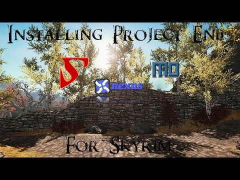 Skyrim - How To Install Project ENB (Detailed)