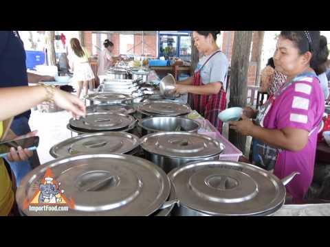 Self-Serve Local Restaurant In Thailand