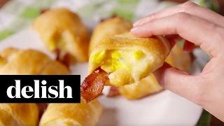 Breakfast in a Blanket | Delish