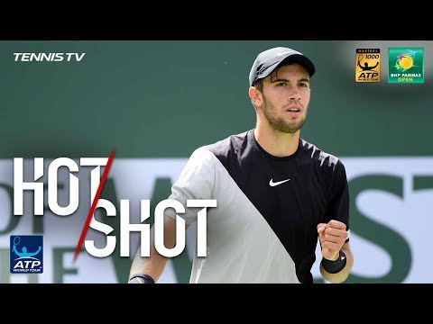 Hot Shot: Coric Outfoxes Federer In Indian Wells SF 2018