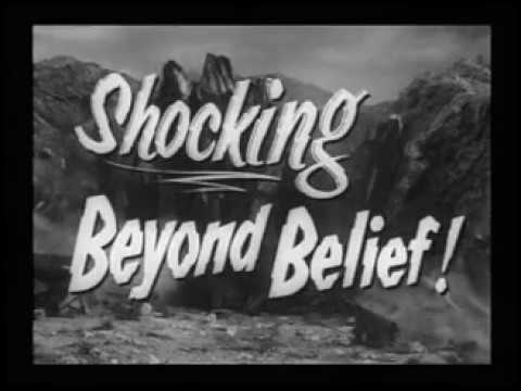 1957 The Monolith Monsters Trailer