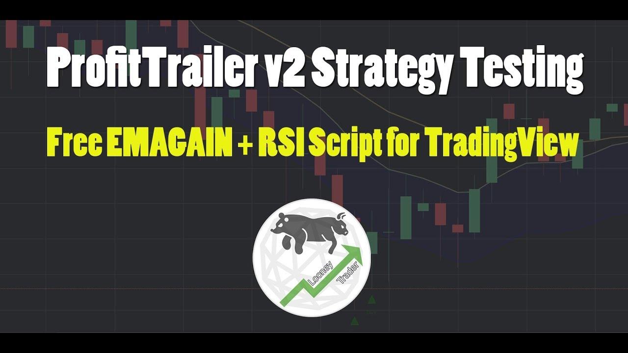 ProfitTrailer v2 Strategy Testing - EMAGAIN + RSI