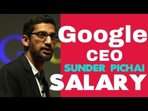 Tech giant Google CEO Sundar pichai Salary &Networth