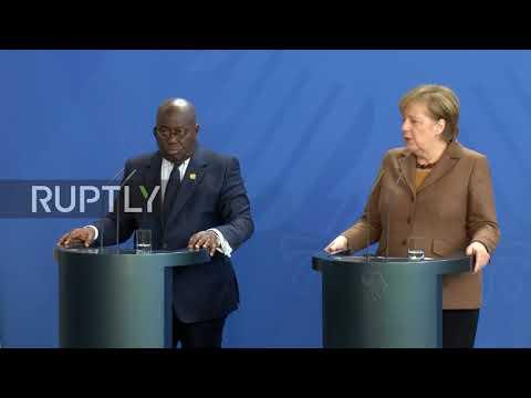 Germany: Merkel discusses bilateral ties with Ghanaian President Dankwa