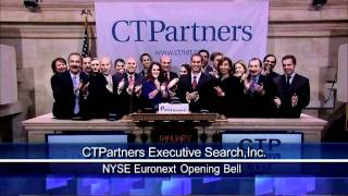 24 Jan 2011 CTPartners Executive Search Inc. Celebrates Listing on NYSE Amex