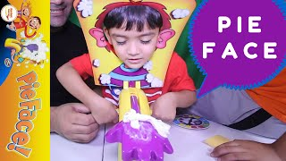 PIE FACE CHALLENGE GAME FUN TIME TOY REVIEW