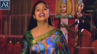 Trinetram Movie Scenes | Sindhuja Aatma in Temple to harm Raasi | AR Entertainments
