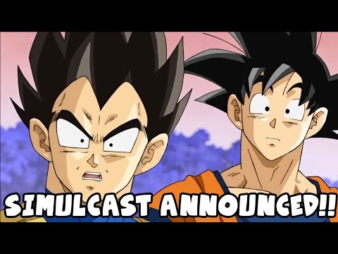 Dragon Ball Super SIMULCAST OFFICIALLY ANNOUNCED!!