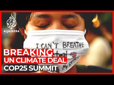 UN Climate Summit: COP25 negotiators reach climate deal