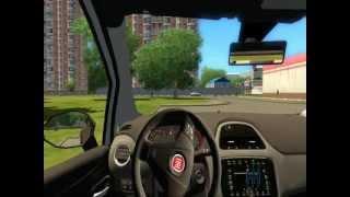 City Car Driving 1.2.2 Fiat Punto EVO