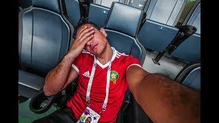 VLOG 90 - #TORUSSIAKAMLINE هزيمة حزينة ضد الايران 1 0 المغرب في سانبيترسبورك - NEVER GIVE UP