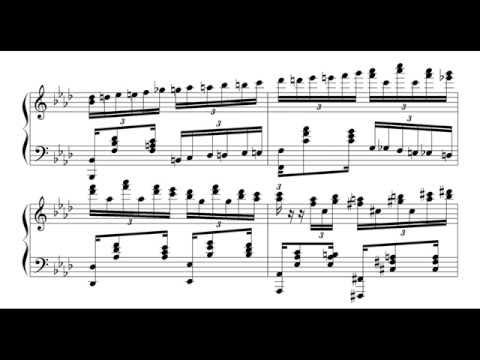 Original piano composition - Estudio, Op.36 (Synthesised)