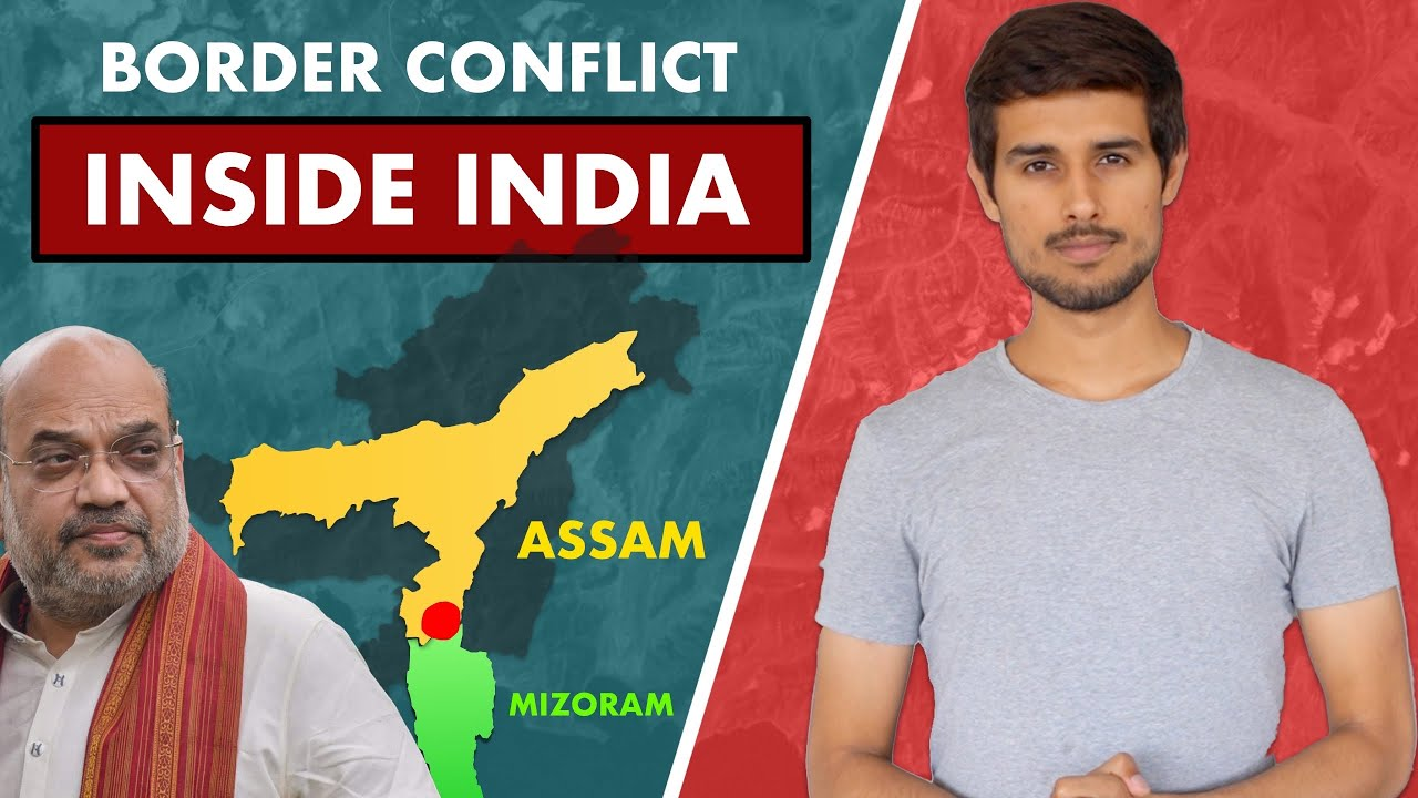 Assam Mizoram Border Issue | History of Mizoram |Assam CM |Dhruv Rathee ft @Soch by Mohak Mangal