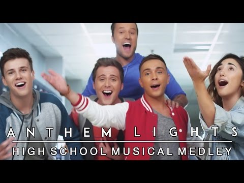 High School Musical Medley | Anthem Lights Mashup (ft. Alex G)