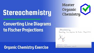 Converting Line Diagrams to Fischer Projections