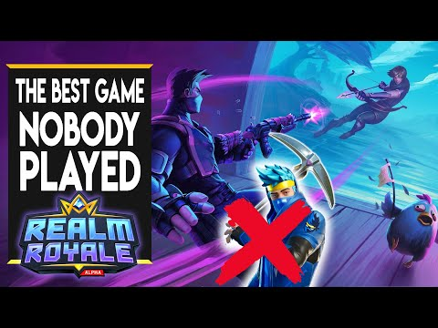 Fortnite WITHOUT The Building - A Look Back At Realm Royale And Why It Was So Great