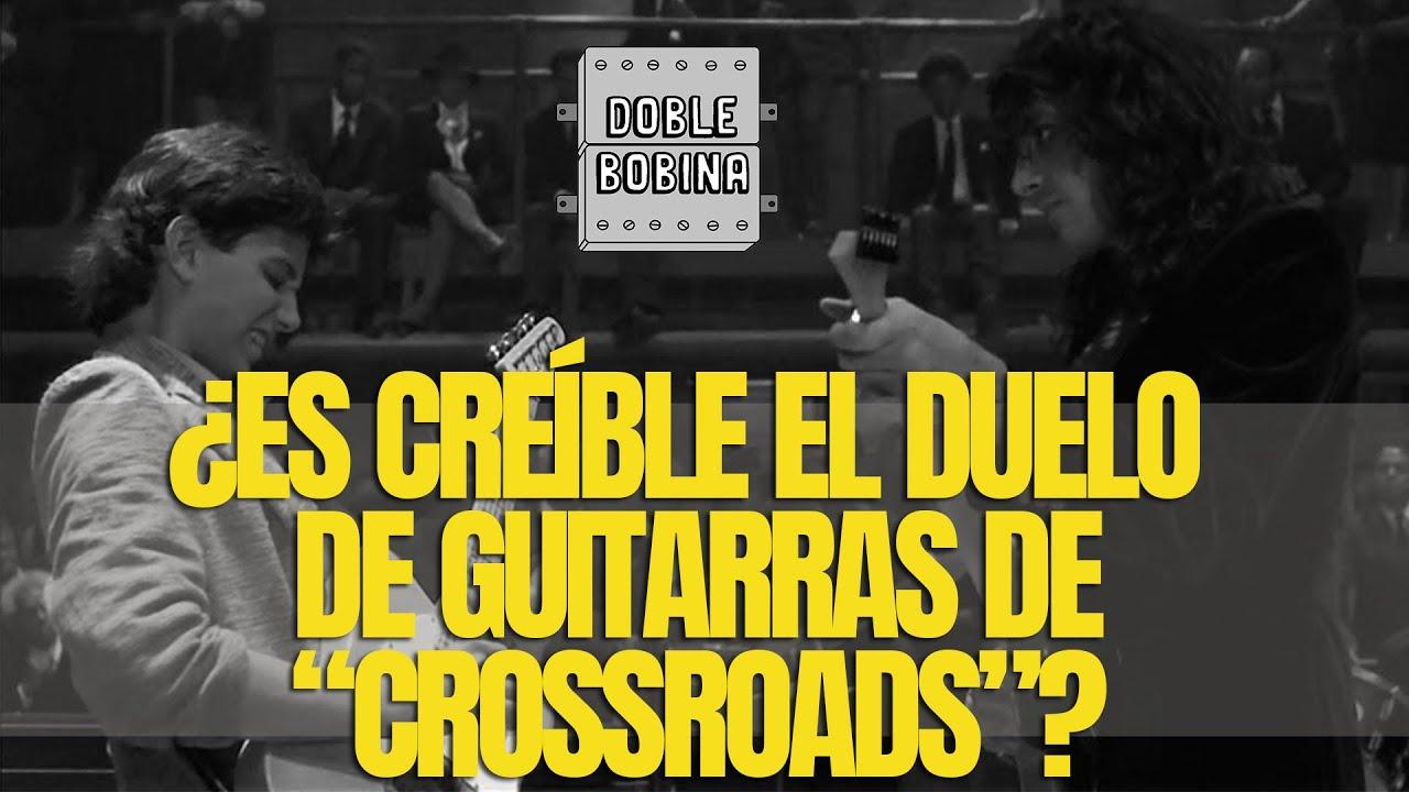 """¿Es creíble el duelo de guitarras de """"Crossroads""""""""?"""