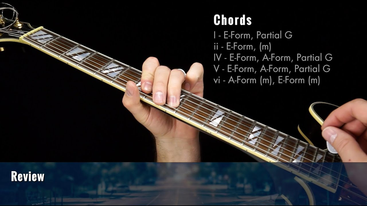 Simple Ballad Guitar Chords Progressions Lesson 1 Youtube