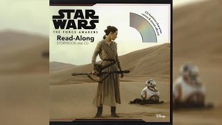 2016 Star Wars The Force Awakens Read-Along Story Book and CD