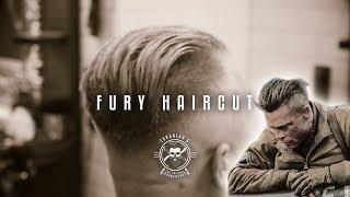 "BRAD PITT ""FURY"" HAIRCUT│UNDERCUT HAIRSTYLE│TURANLAR'S BARBERSHOP"