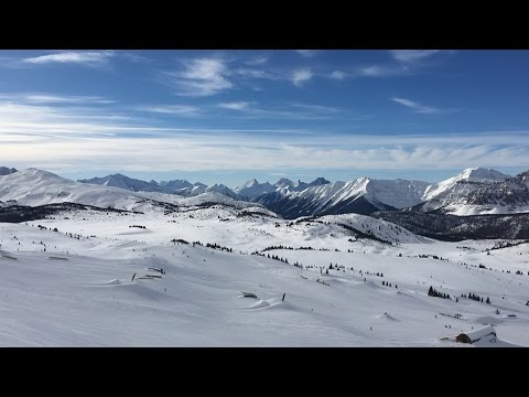 Skiing Sunshine Village 2016
