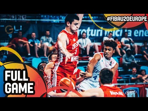 Great Britain v Croatia - Full Game - Semi-Finals - FIBA U20 European Championship 2017 - DIV B