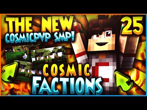 """""""NEW COSMICPVP FACTIONS SMP!"""" - Minecraft COSMICPVP FACTIONS Let's Play Ep 25(Pleb Planet)"""