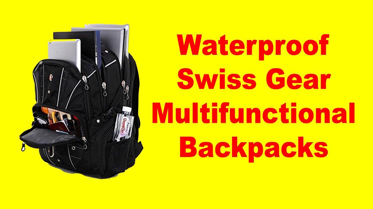 Best Laptop Backpack For Travel | Waterproof Swiss Gear ...