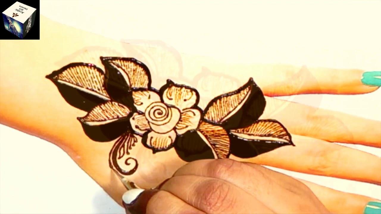 New Arabic Mehndi Design for Hand || Easy Simple Mehndi Design || Floral Mehndi Designs 2020