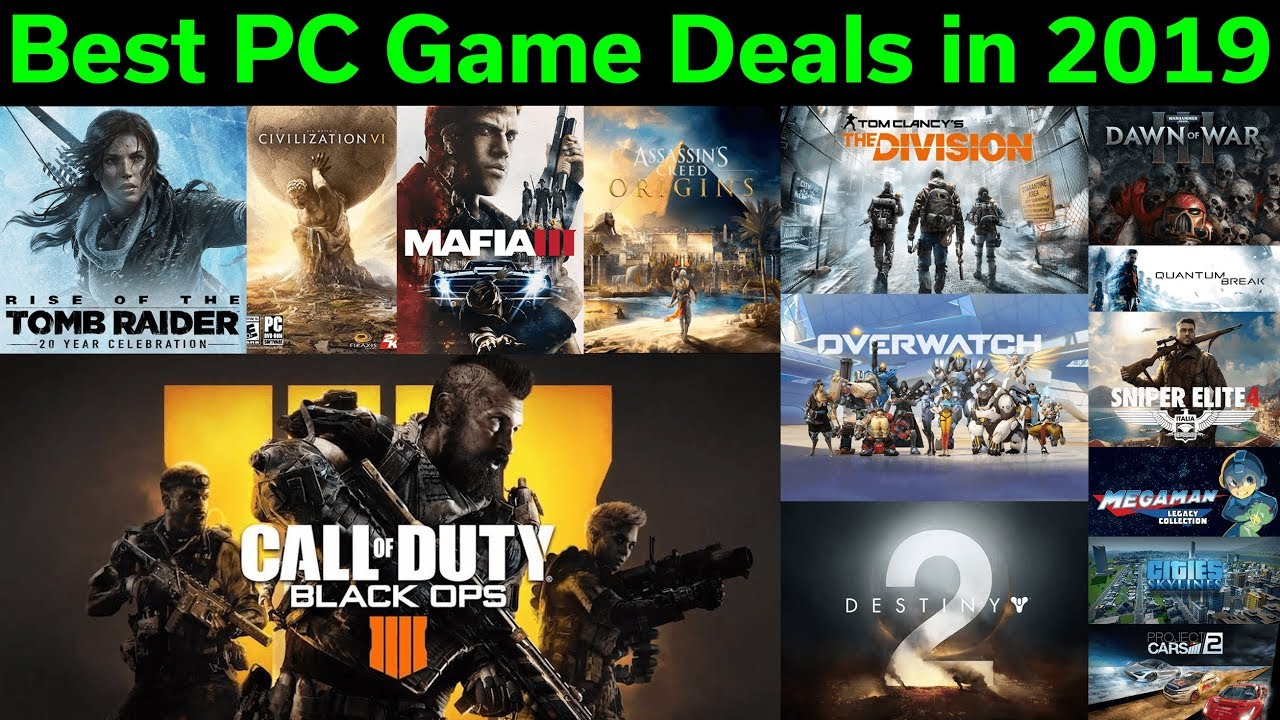 The Best Places to Buy and Rent PC Games Online in 2020 ...