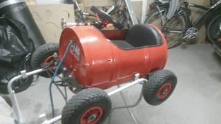 Motorisation électrique d'une voiture pour enfant