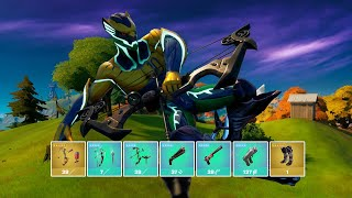 Fortnite Getting All Mythic Weapons and Exotic Weapons In One Game (v16.30)