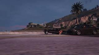 GTA5 Drag Racers 番外編 Drag meets MOD ! [Rockstar Editor]
