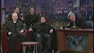 98 Degrees on Jay Leno 11/26/99 *This Gift*