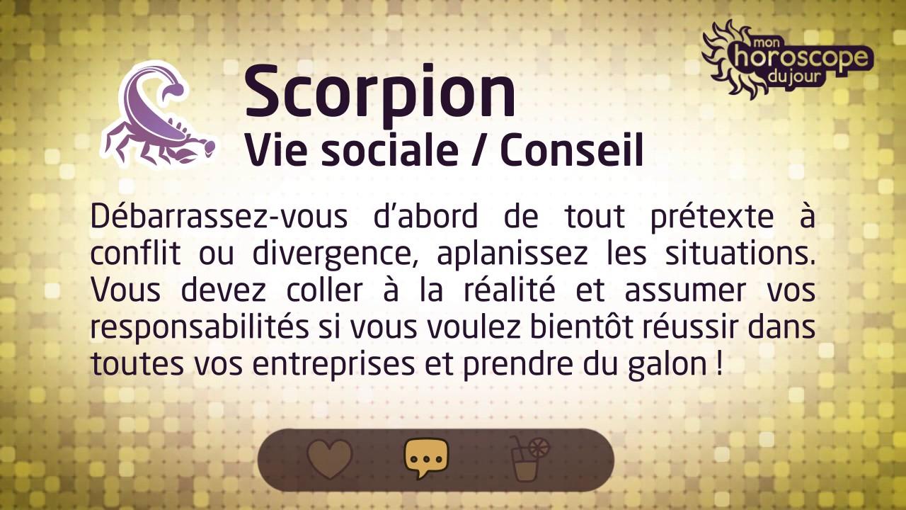 horoscope du scorpion d 39 avril 2017 youtube. Black Bedroom Furniture Sets. Home Design Ideas