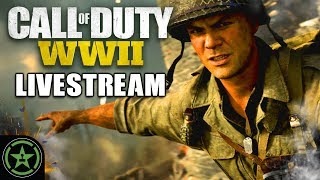 Call of Duty: WWII - Prop Hunt and Gun Game - Achievement Hunter Live Stream