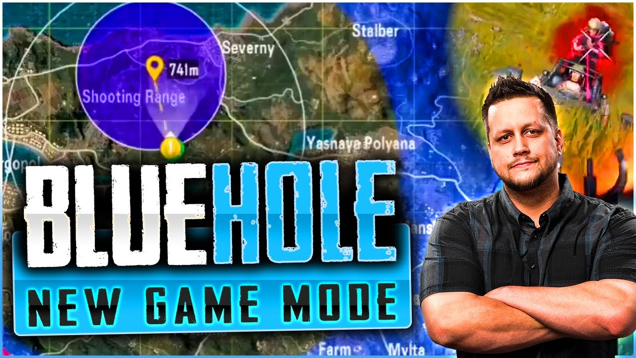 THEY SNUCK IN A NEW GAME MODE - BLUE HOLE!