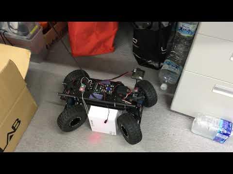 Control a drone with a joystick through a web based server
